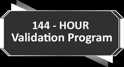 144-Stündiges Validierungsprogramm
