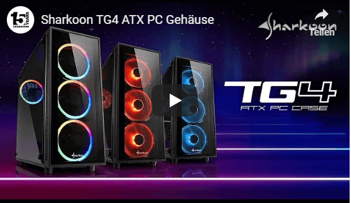 Sharkoon TG4 ATX Midi Tower