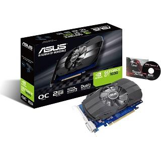 2GB Asus GeForce GT 1030 OC Aktiv PCIe 3.0 (Retail)