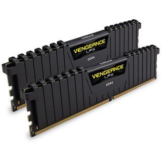 16GB Corsair Vengeance LPX schwarz DDR4-2400 DIMM CL14 Dual Kit