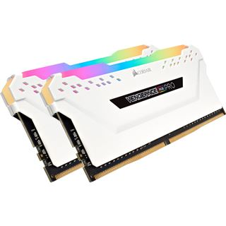 16GB Corsair Vengeance RGB PRO weiß DDR4-2666 DIMM CL16 Dual Kit