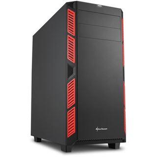 Sharkoon AI7000 Silent gedämmt Midi Tower ohne Netzteil