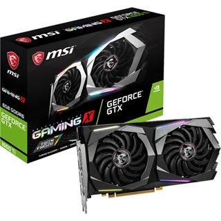 6GB MSI GeForce GTX 1660 Ti Gaming X 6G Aktiv PCIe 3.0 x16 (Retail)