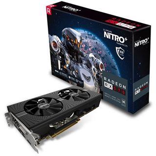 GB Sapphire Radeon RX 570 Nitro+ Aktiv PCIe 3.0 x16 (Retail)