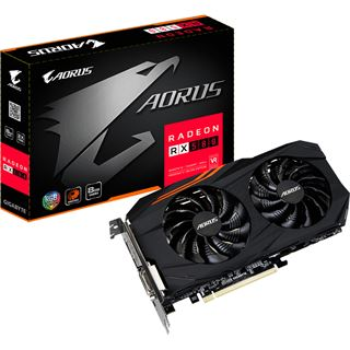 8GB Gigabyte Radeon RX 580 AORUS Aktiv PCIe 3.0 x16 (Retail)