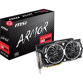 8GB MSI Radeon RX 590 Armor 8G OC Aktiv PCIe 3.0 x16 (Retail)
