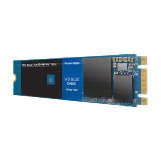 250GB WD Blue SN500 M.2 2280 PCIe NVMe 3.0 x2 3D-NAND TLC
