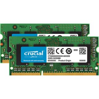8GB Crucial KIT (4GBX2) DDR3L 1600 MT/, CL11