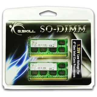 16GB G.Skill Standard DDR3-1333 SO-DIMM CL9 Dual Kit