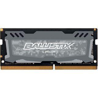 16GB Crucial Ballistix Sport LT Dual Rank grau DDR4-2666 SO-DIMM CL16