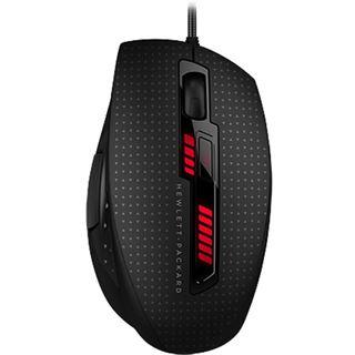 HP X9000 OMEN USB schwarz/rot (kabelgebunden)