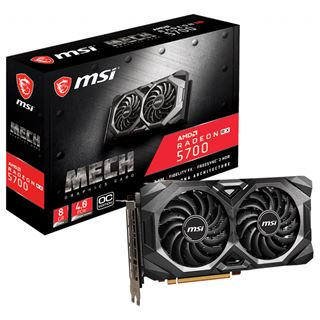 8GB MSI RX 5700 MECH OC DDR6 HDMI/3xDP (Retail)
