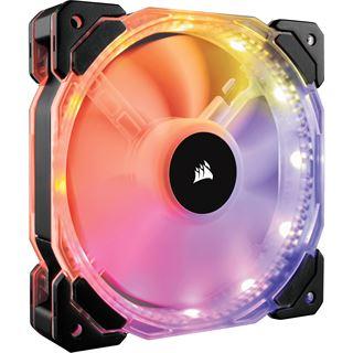 Corsair HD140 RGB LED PWM 140x140x25mm 600-1350 U/min 18-28.6 dB(A)