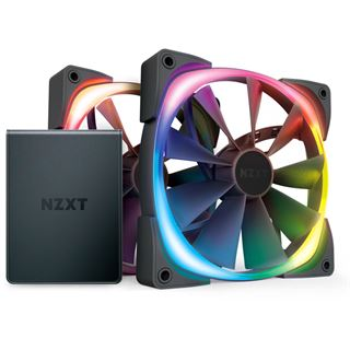 NZXT Aer RGB 2 Twin Starter, RGB LED-Lüfter - 140mm