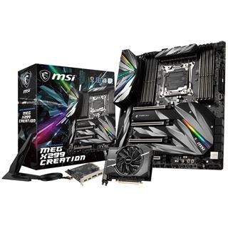 MSI X299 MEG X299 CREATION Intel X299 So.2066 Quad Channel DDR EATX