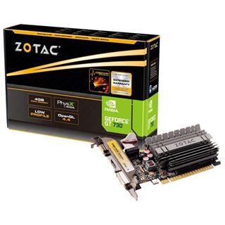 4GB ZOTAC GeForce GT 730 Passiv PCIe 2.0 x16 (Retail)