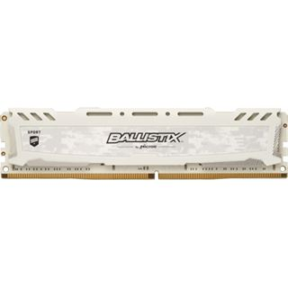 64GB Crucial Ballistix Sport LT weiß DDR4-2666 DIMM CL16 Quad