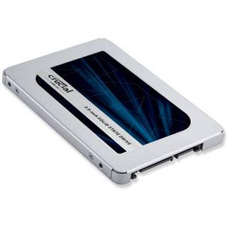 "2000GB Crucial MX500 2.5"" (6.4cm) SATA 6Gb/s 3D-NAND TLC"