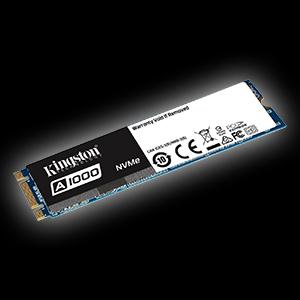 480GB Kingston A1000 M.2 2280 PCIe NVMe 3.0 x2 3D-NAND