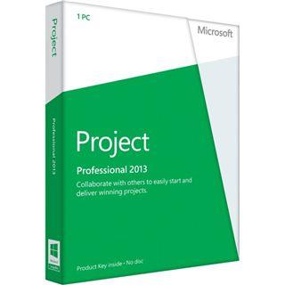 Microsoft Project Professional 2013 32/64 Bit Deutsch 1 User PC (PKC)