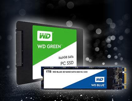 WD SSD - Schnelle und leistungsfähige Speichermedien von Western Digital