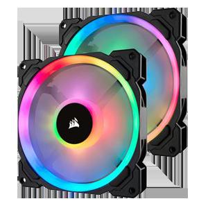 CORSAIR LL140 RGB 2er Pack 140x140x25mm