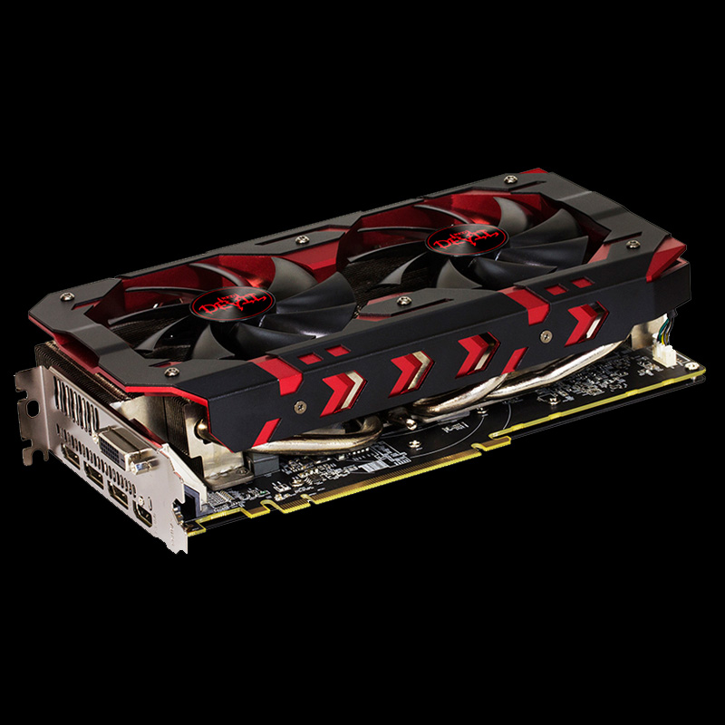 8GB PowerColor Radeon RX 580 Red Devil Golden Sample Aktiv PCIe 3.0