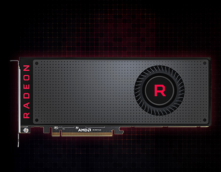 8GB HIS Radeon RX Vega 64 AIR Black Aktiv PCIe 3.0 x16 (Retail)
