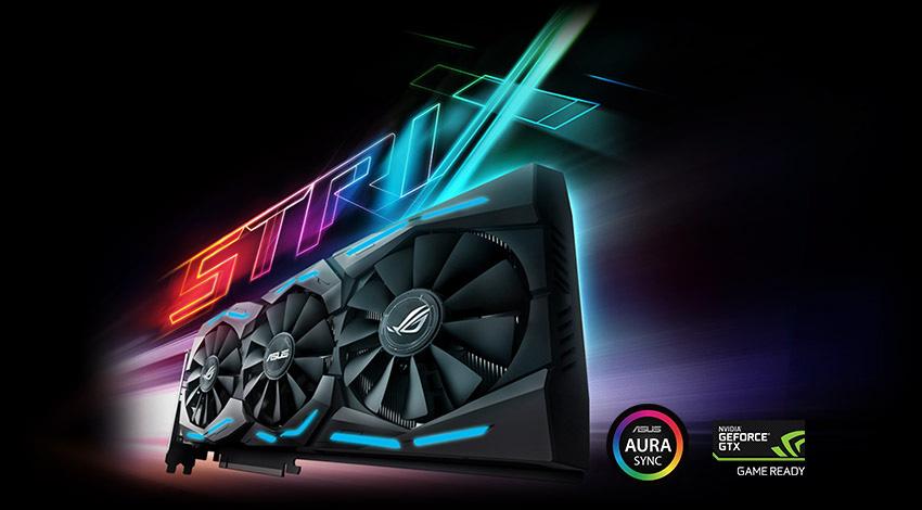 11GB Asus GeForce GTX 1080 Ti ROG Strix OC Aktiv PCIe 3.0 x16 (Retail)