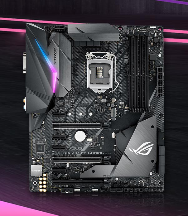 Asus ROG STRIX Z370-F Gaming Intel Z370 So.1151 Dual Channel DDR4 ATX