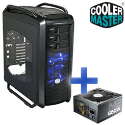 CoolerMaster Bundle: Cosmos SE Window Midi Tower + Silent Pro M2 850W Netzteil - ein tolles Duo