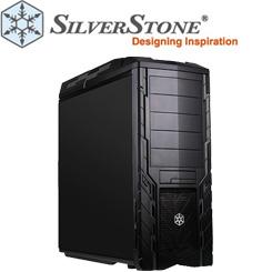 SilverStone Precision Series PS06 Midi Tower mit ausgezeichneter Kühlung