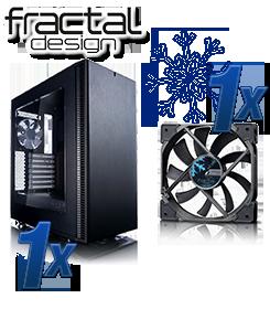 Fractal Design Define C / Fractal Design Venturi HF 12 Lüfter