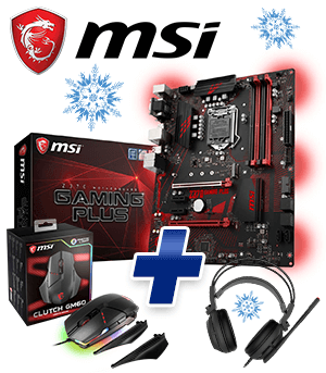 MSI Z370 GAMING PLUS Bundle