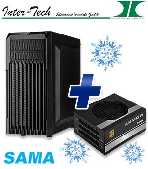 Midi-Tower PCD-01 & Netzteil SAMA HTX-550W Amor