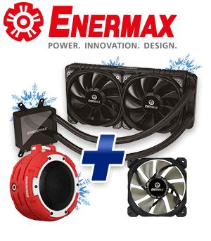 Enermax LiqTech TR4 240 & O Marine rot/weiß