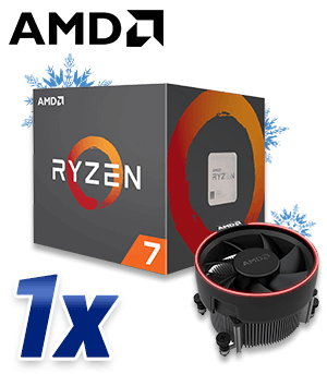 AMD™ Ryzen™ 1700 BOX