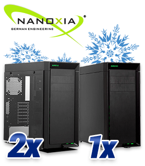 Nanoxia CoolForce 1 Basic und CoolForce 1 Basic Window