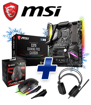 MSI Z370 GAMING PRO CARBON Bundle