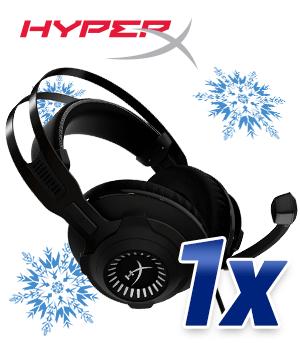 1x HyperX Cloud Revolver S schwarz/ silber