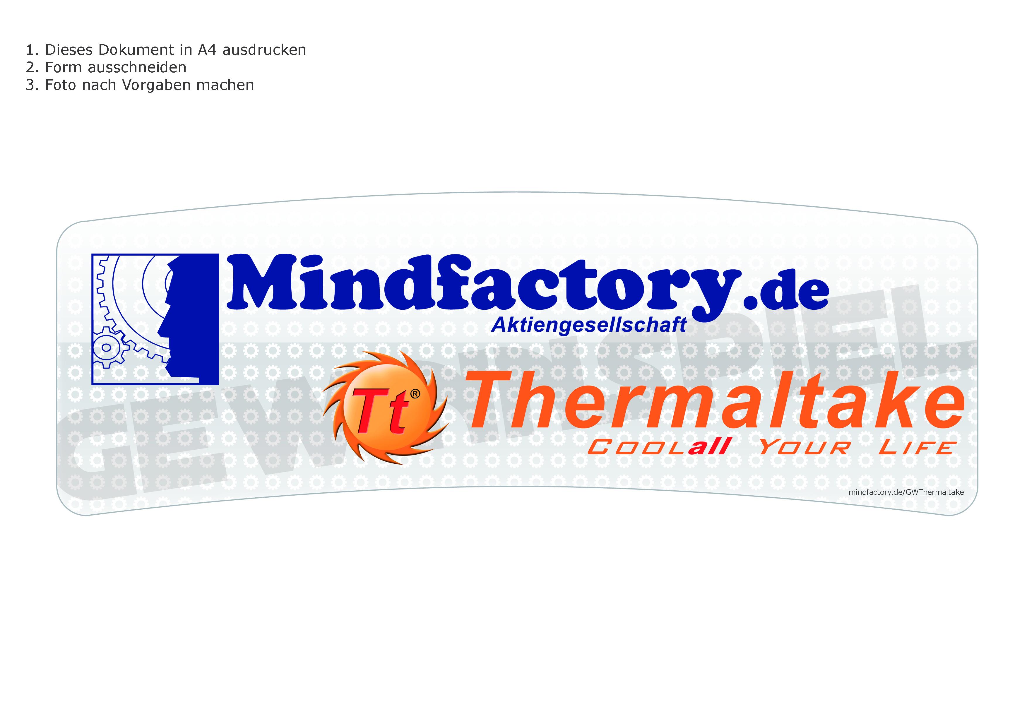 Thermaltake Gewinnspiel   Mindfactory.de - Hardware, Notebooks ...