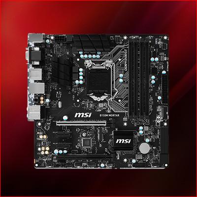 MSI B150M Mortar Intel B150 So.1151 Dual Channel DDR4 mATX Retail