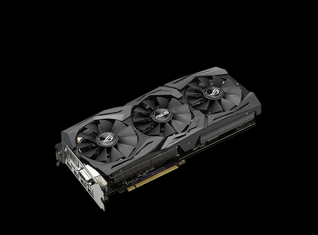 8GB Asus GeForce GTX 1070 Strix OC Aktiv PCIe 3.0 x16 (Retail)