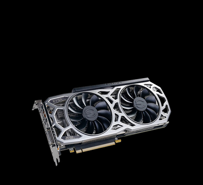 11GB EVGA GeForce GTX 1080 Ti SC2 Gaming Aktiv PCIe 3.0 x16 (Retail)