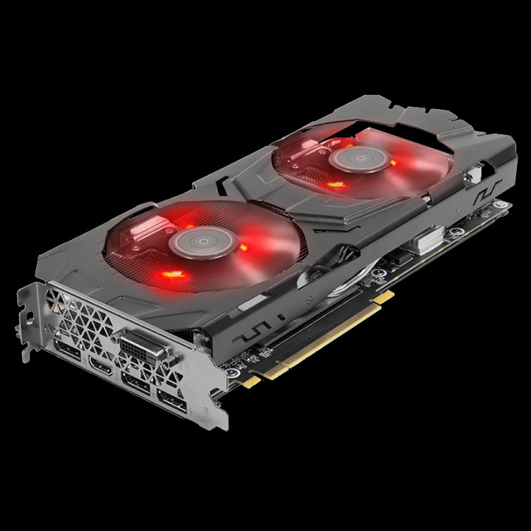8GB KFA2 GeForce GTX 1080 EX OC Edition Aktiv PCIe 3.0 x16 (Retail)