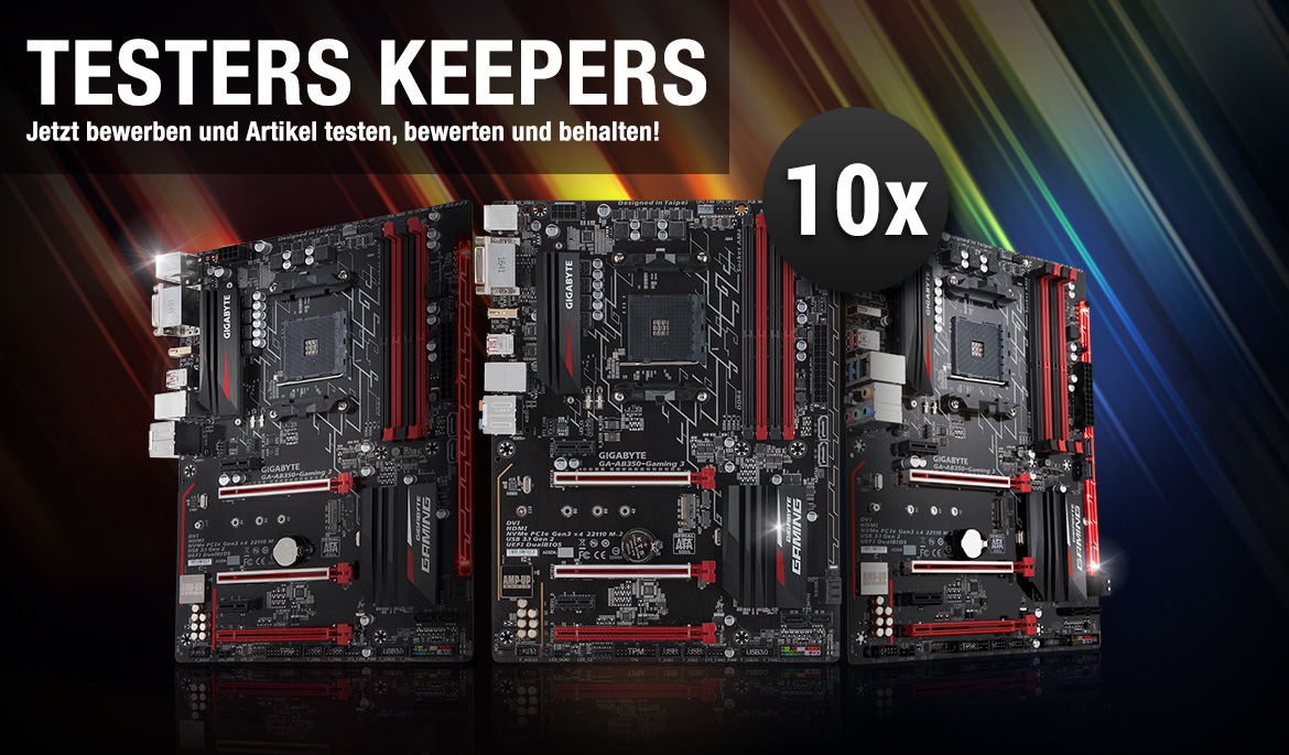 GIGABYTE GA-AB350-Gaming 3 Testers Keepers | Mindfactory.de ...
