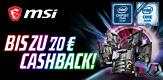 MSI Z390 Cashback