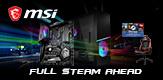 MSI Full Steam Ahead - bis zu 50 Dollar Steam Guthaben beim Kauf eines Aktionsproduktes erhalten!