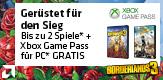 Jetzt Aktionsprozessor kaufen und bis zu 2 Spiele sowie 3 Monate Xbox Game Pass GRATIS erhalten! (Bedingungen beachten)