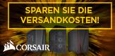 Versandkosten sparen mit Corsair